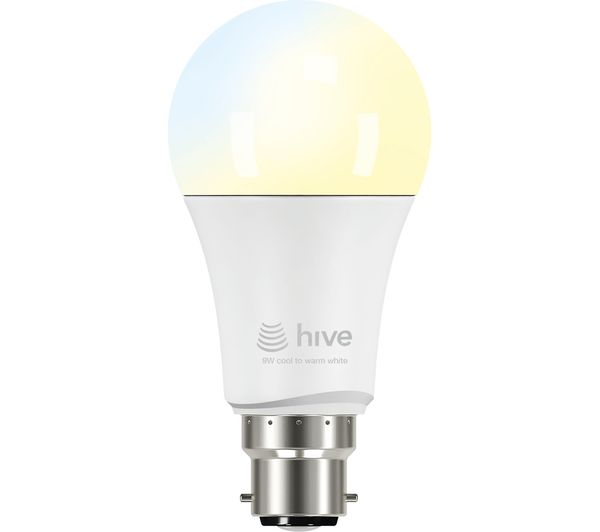 HIVE Active Light Cool to Warm White Bulb - B22, White