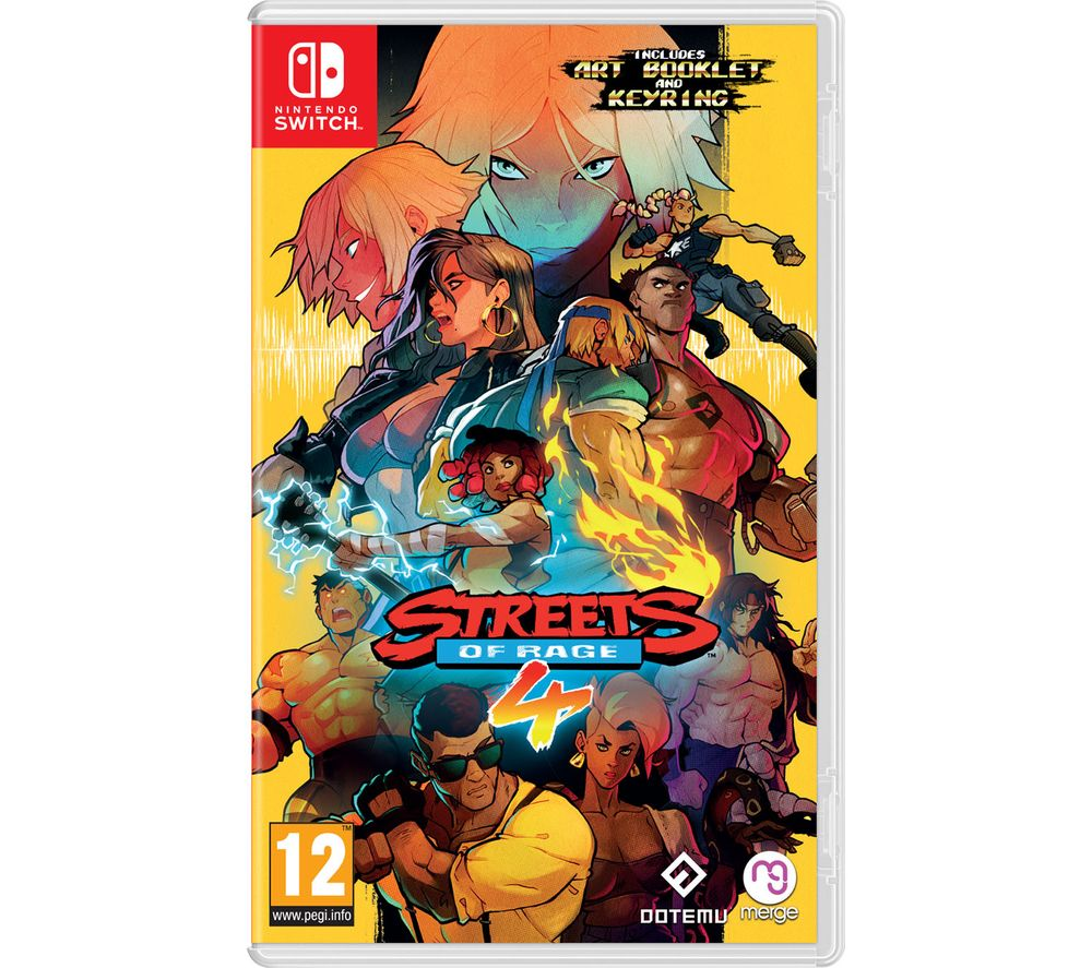 NINTENDO SWITCH Streets of Rage 4