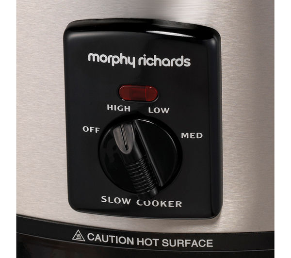MORPHY RICHARDS 48705 Sear and Stew Slow Cooker - Stainless Steel, Stainless Steel