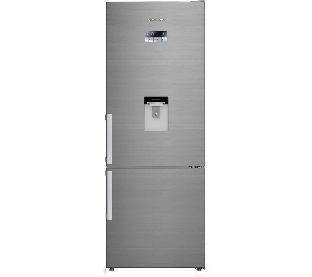 GRUNDIG GKN67920DX 60/40 Fridge Freezer - Stainless Steel, Stainless Steel