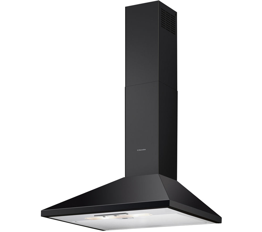 ELECTROLUX EFC60151K Chimney Cooker Hood - Black, Black