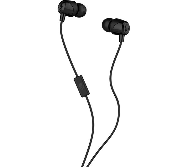 SKULLCANDY Jib Headphones - Black, Black
