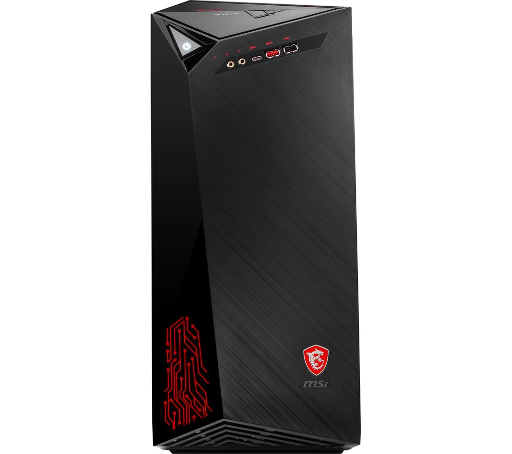 MSI Infinite 9SA-871UK Gaming PC - Intel® Core™ i5, GTX 1650, 1 TB HDD & 256 GB SSD