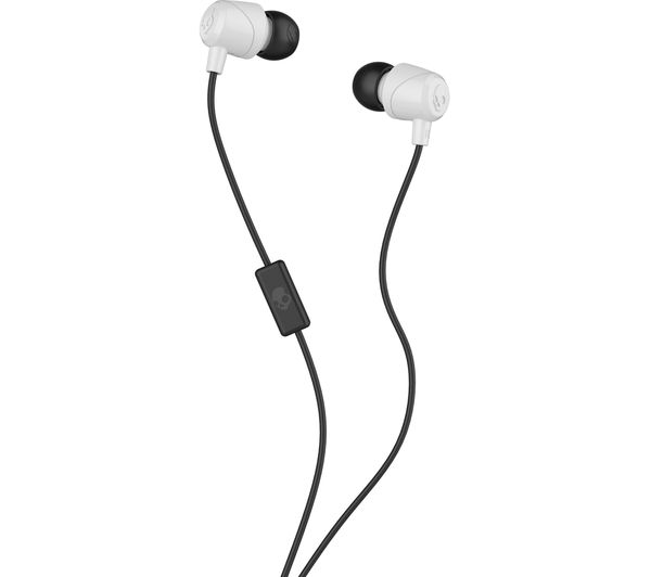 SKULLCANDY Jib Headphones - White & Black, White