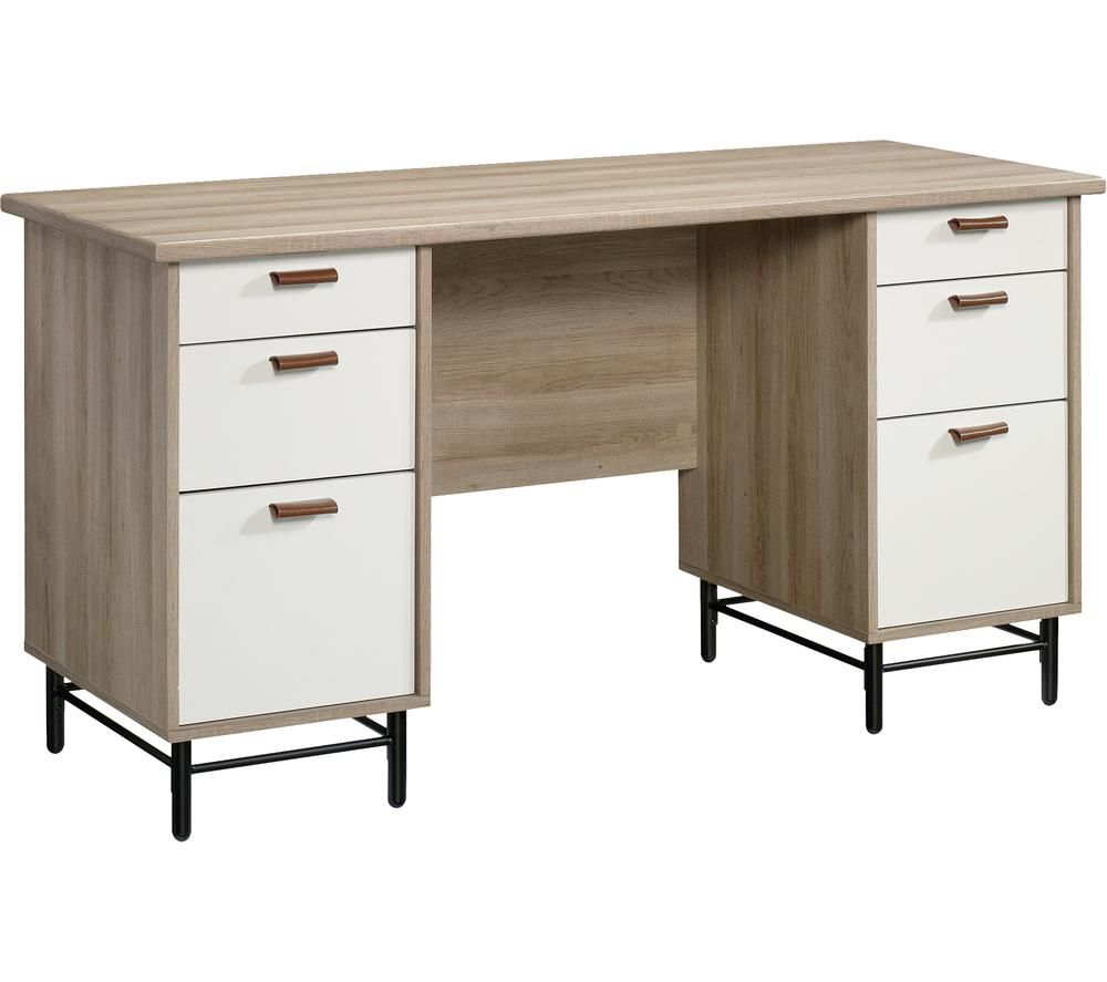 TEKNIK Avon Desk - Sky Oak