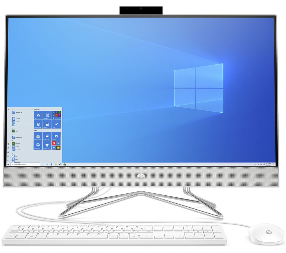 "HP 27-dp0091na 27"" All-in-One PC - Intel®Core™ i5, 512 GB SSD, Silver, Silver"