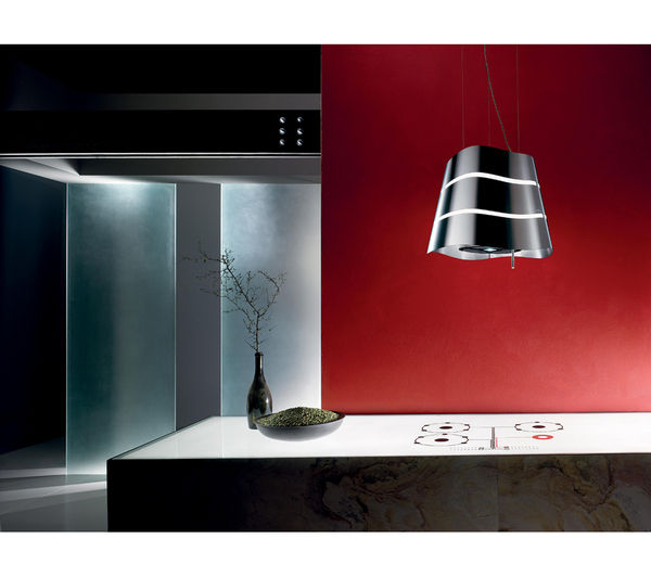 ELICA Flow Island Cooker Hood - Stainless Steel, Stainless Steel