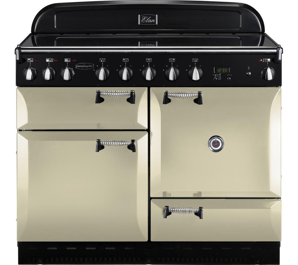 RANGEMASTER Elan 110 Induction Range Cooker - Cream, Cream