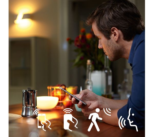 PHILIPS Hue Ambience Wireless Bulb - B22, White