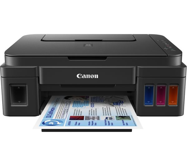 CANON PIXMA G3501 All-in-One Wireless Inkjet Printer, Black
