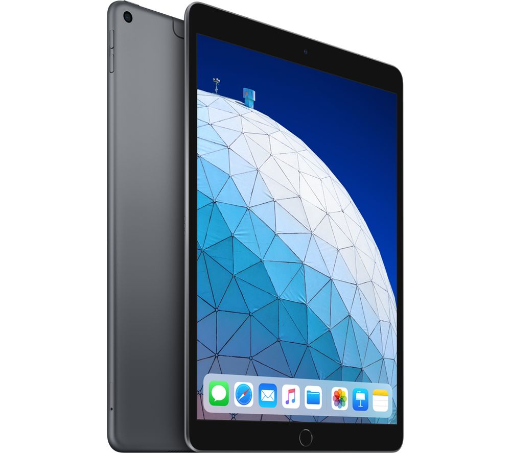 "10.5"" iPad Air Cellular (2019) - 256 GB, Space Grey, Grey"