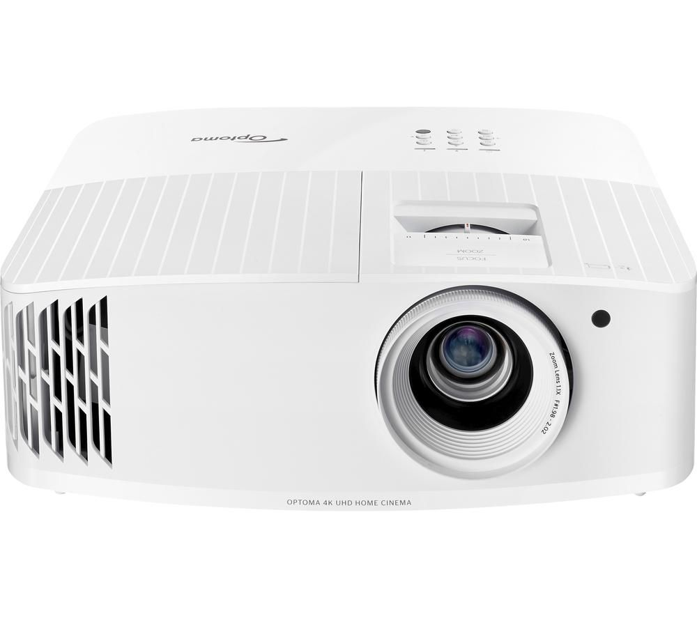 OPTOMA UHD35 4K Ultra HD Home Cinema Projector - White, White