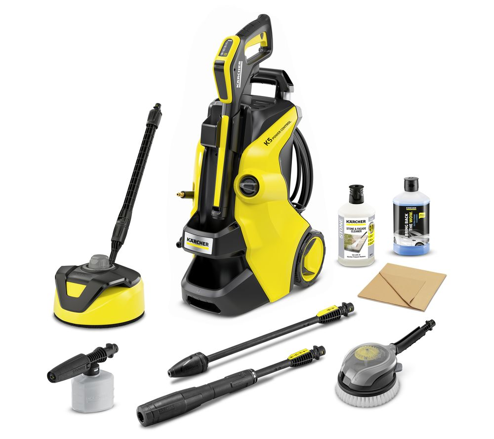 KARCHER K 5 Power Control Car & Home Pressure Washer - 145 bar, Stone