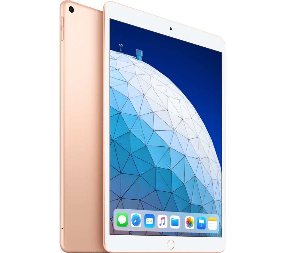 "0.5"" iPad Air Cellular (2019) - 256 GB, Gold, Gold"