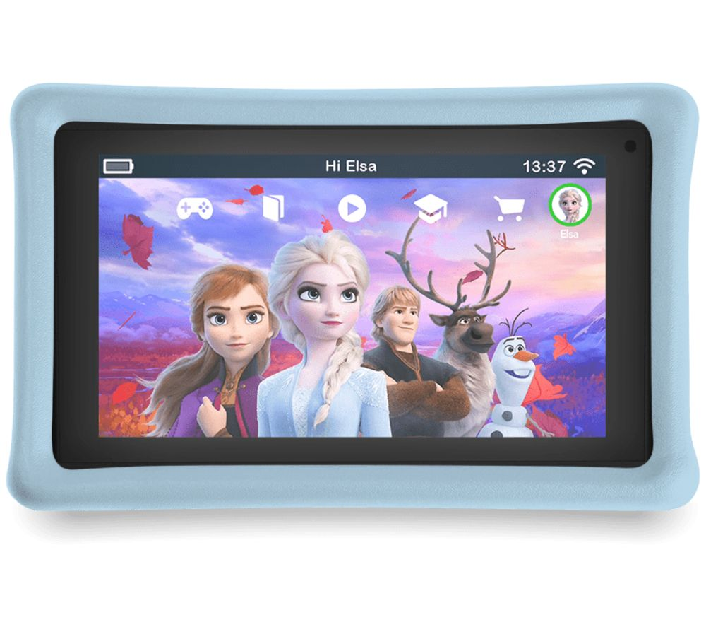 "PEBBLE GEAR Frozen 2 7"" Kids Tablet - 16 GB, Blue"