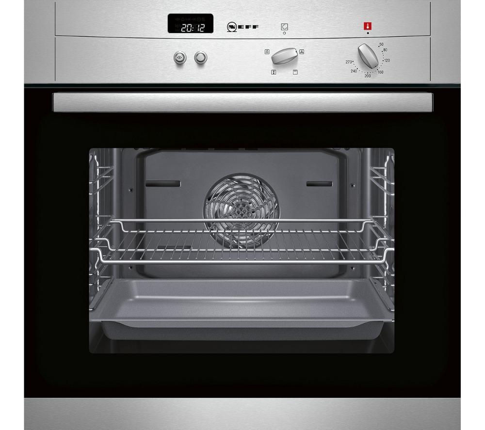 NEFF B12S32N3GB Electric Oven - Stainless Steel, Stainless Steel