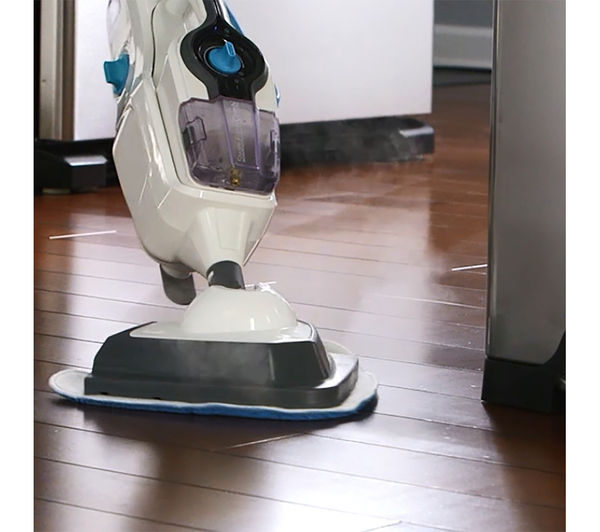VAX Steam Fresh Combi S86-SF-C Multifunction Steam Mop - White & Blue, White