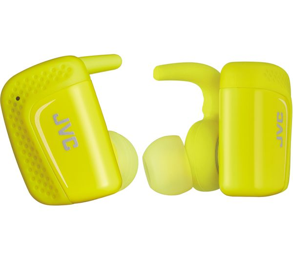 JVC HA-ET90BT-BE Wireless Bluetooth Headphones - Yellow, Yellow