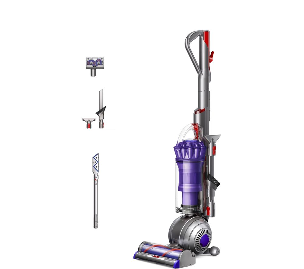 DYSON Small Ball Animal 2 Upright Bagless Vacuum Cleaner - Iron & Purple, Purple
