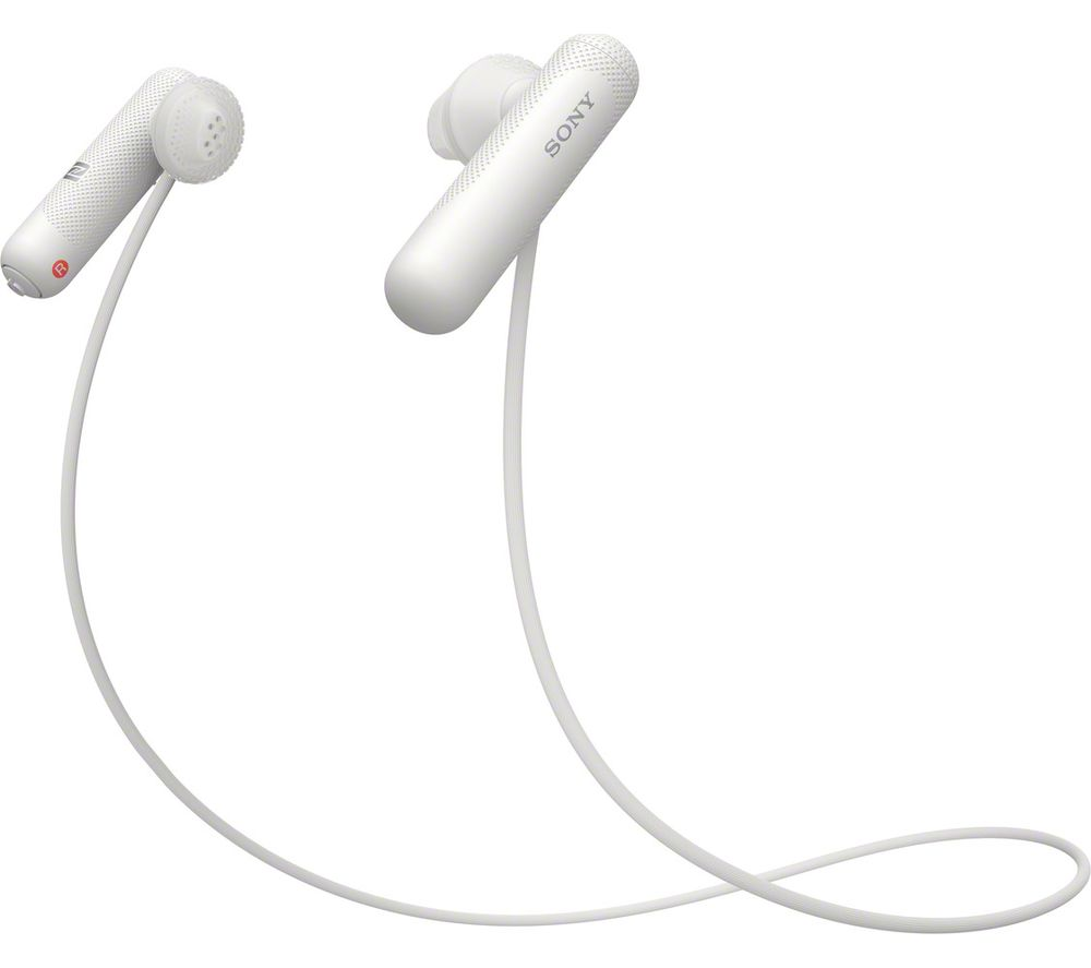 SONY WI-SP500 Wireless Bluetooth Sports Earphones - White, White