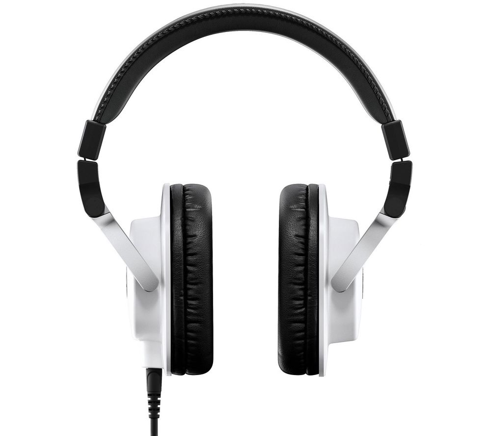 YAMAHA HPH-MT5 Studio Monitor Headphones - White, White