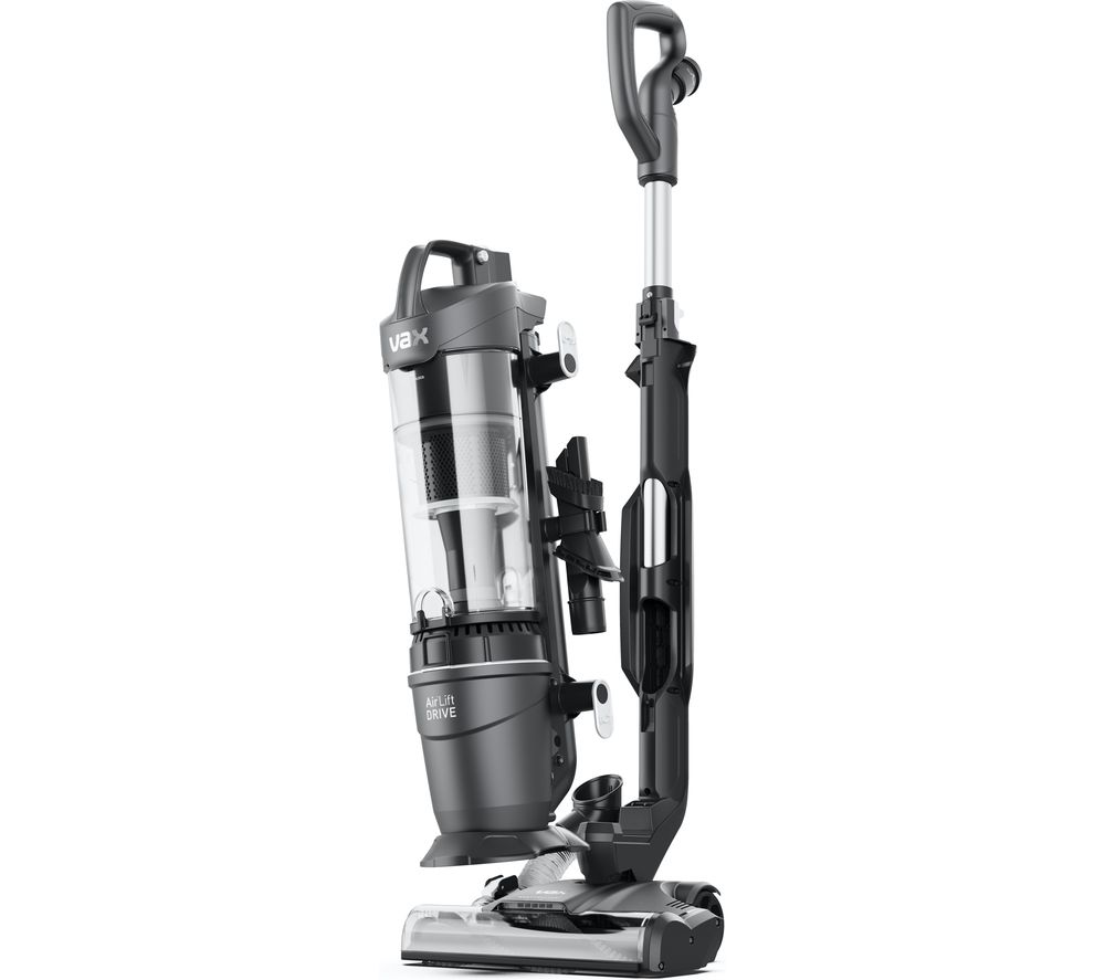 VAX Air Lift Drive Plus Upright Bagless Vacuum Cleaner - Silver, Silver