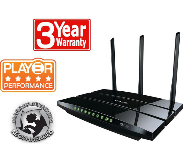 Tp-Link Archer C7 Wireless Cable Router - AC 1750, Dual Band