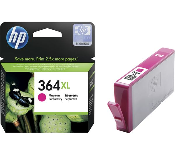 HP 364XL Magenta Ink Cartridge, Magenta