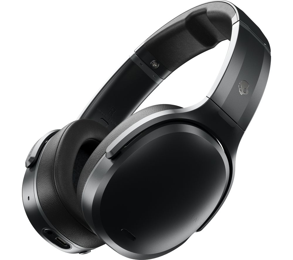 SKULLCANDY Crusher ANC Wireless Bluetooth Noise-Cancelling Headphones - Black, Black