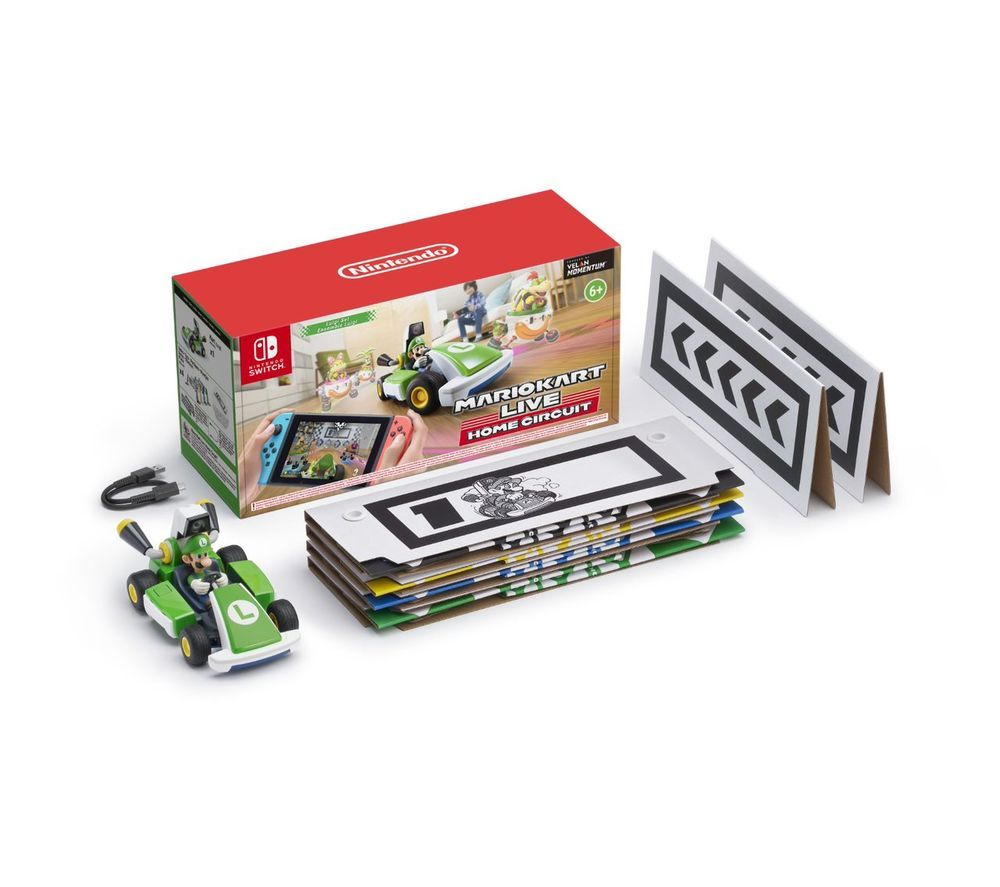 NINTENDO SWITCH Mario Kart Live: Home Circuit - Luigi, Red
