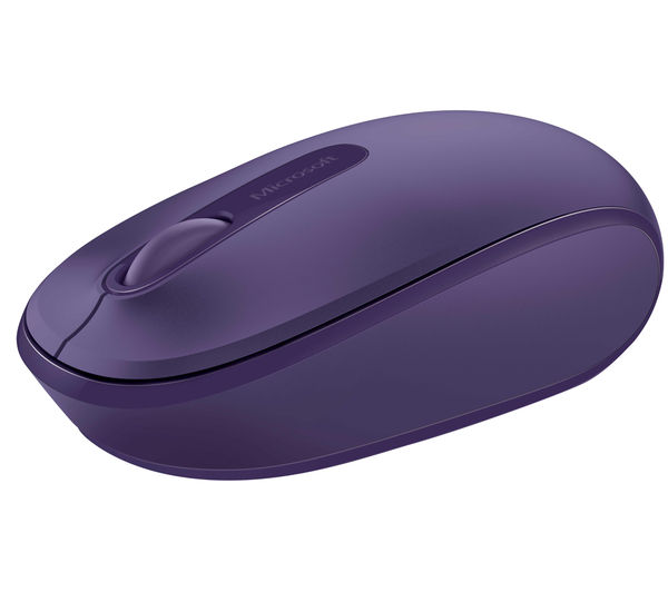 MICROSOFT Wireless Mobile Mouse 1850 - Purple, Purple