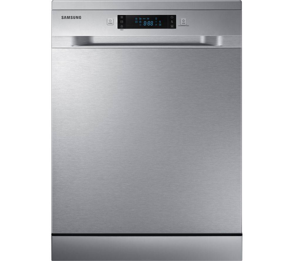 SAMSUNG DW60M5050FS/EU Full-size Dishwasher – Stainless Steel, Stainless Steel