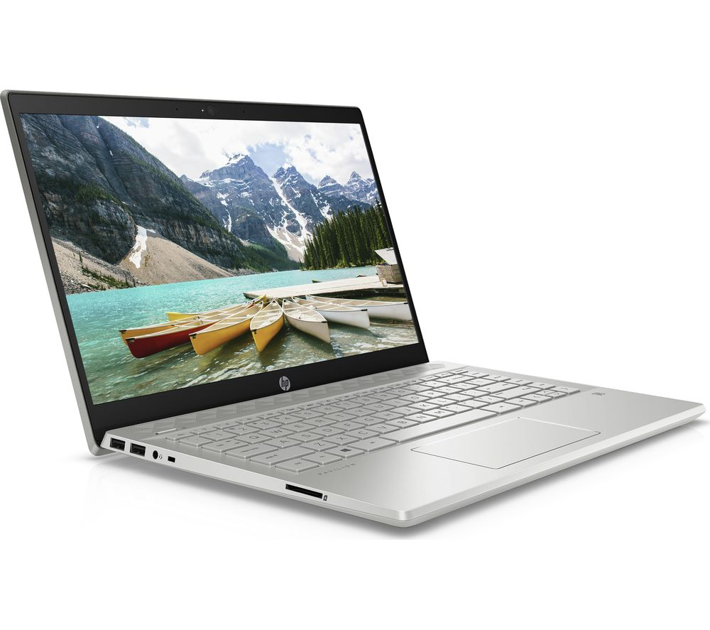 "HP Pavilion 14-ce3506sa 14"" Laptop - Intel® Core™ i3, 128 GB SSD, Silver, Silver"
