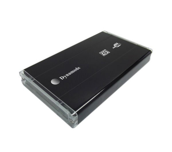 "DYNAMODE USB-HD2.5SI-BN 2.5"" SATA/IDE USB 2.0 Hard Drive Enclosure - Black, Black"