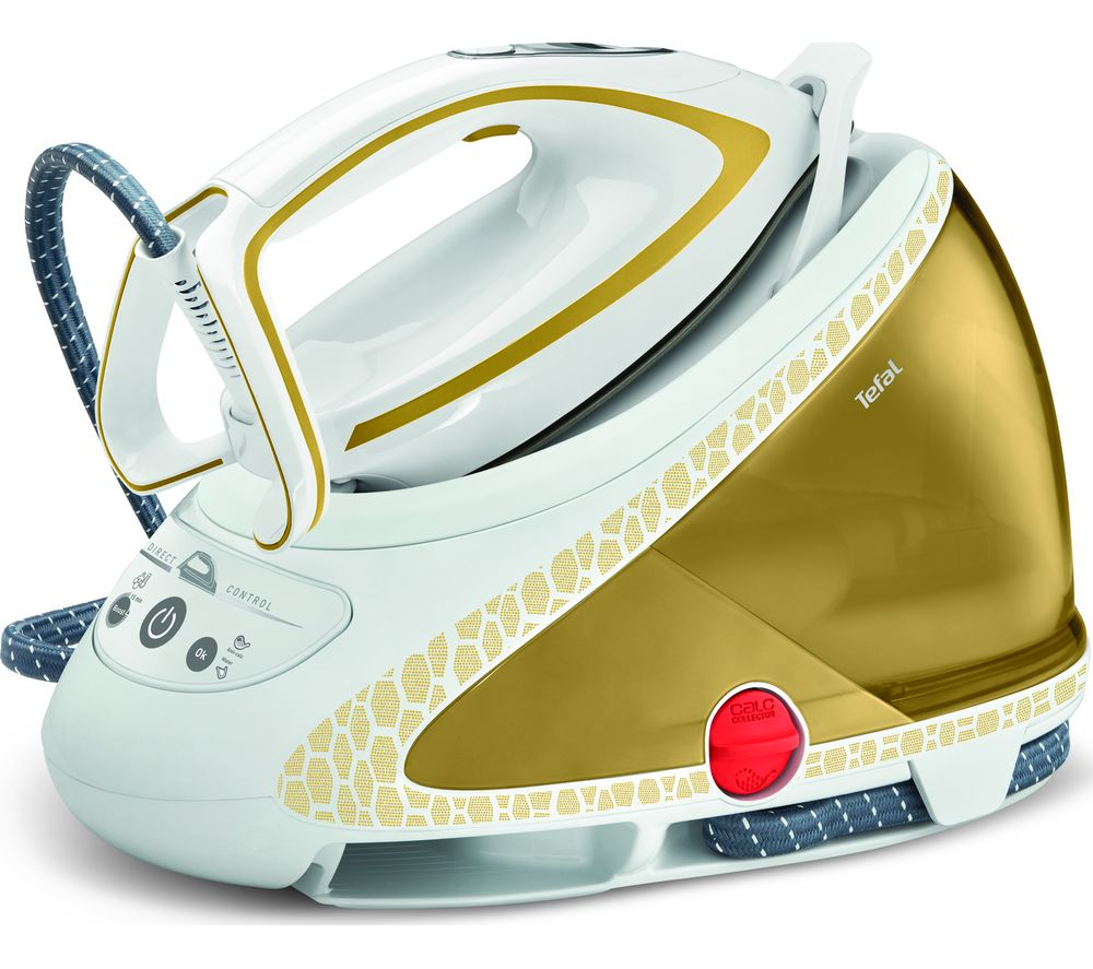 Pro Express Ultimate GV9581 Steam Generator Iron - White & Gold, White