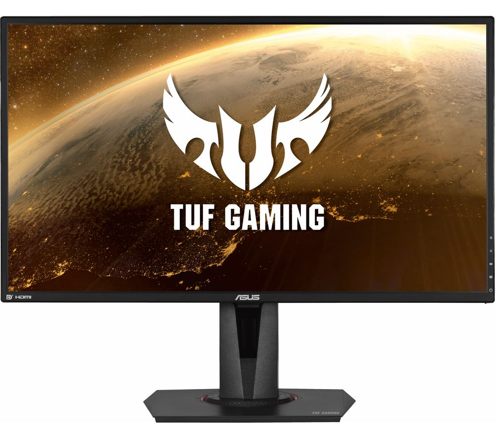 "ASUS TUF VG27AQ Quad HD 27"" IPS LCD Gaming Monitor - Black, Black"