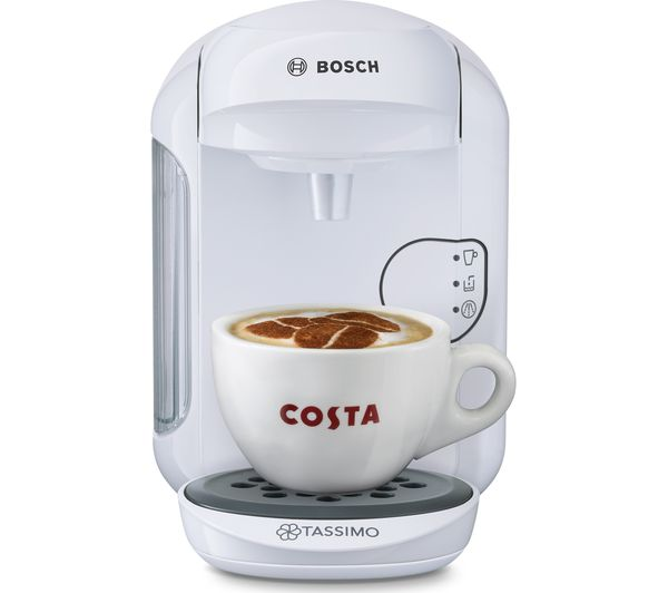 TASSIMO by Bosch Vivy2 TAS1404GB Hot Drinks Machine - White, White