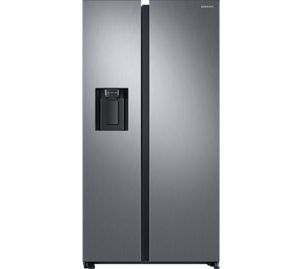 Samsung American-Style Fridge Freezer Matte RS68N8240S9/EU, Cream