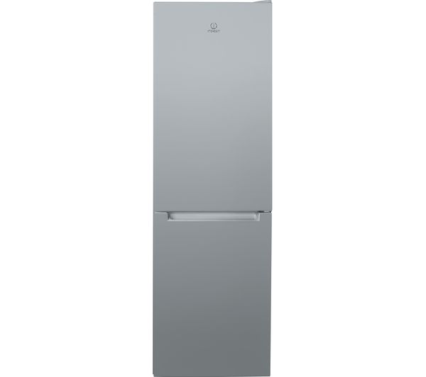 INDESIT LR8 S1 S UK.1 60/40 Fridge Freezer - Silver, Silver