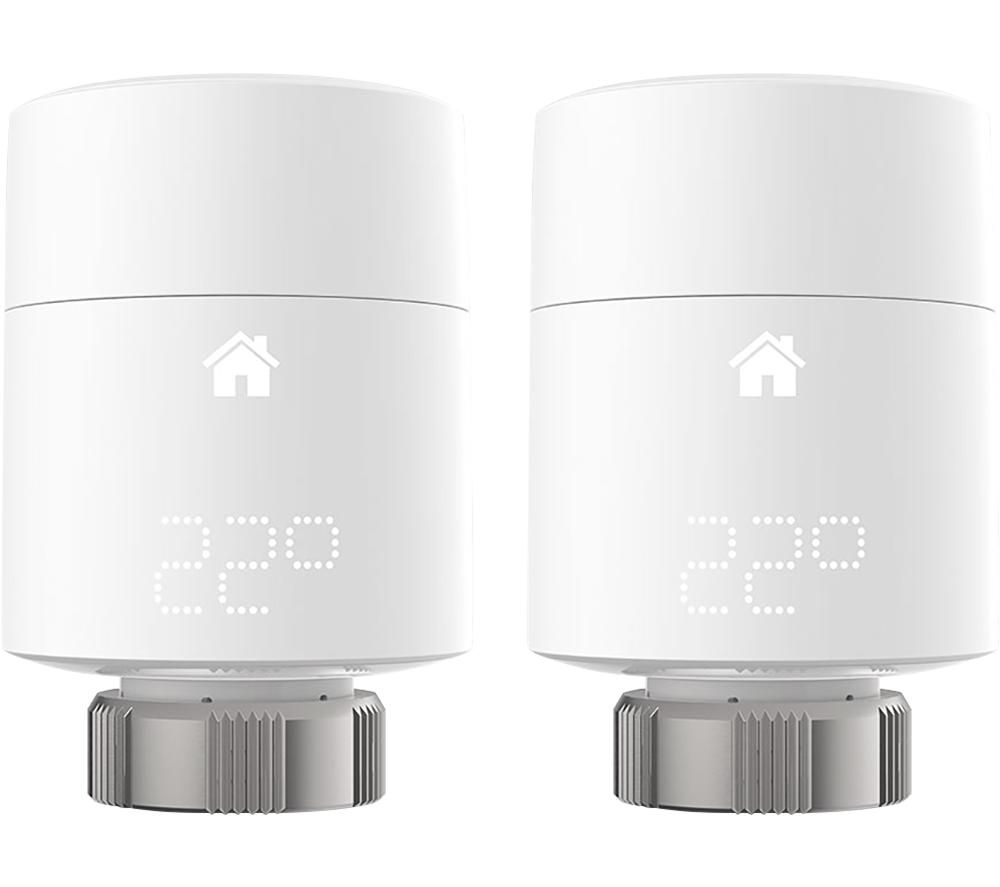 TADO Smart Radiator Thermostat Add-on - Vertical, Pack of 2