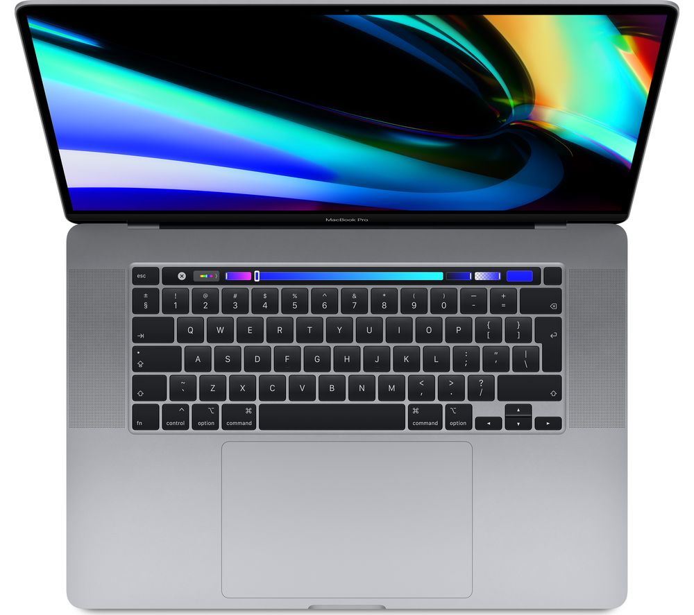 "APPLE 16"" MacBook Pro with Touch Bar (2019) - 512 GB SSD, Space Grey, Grey"