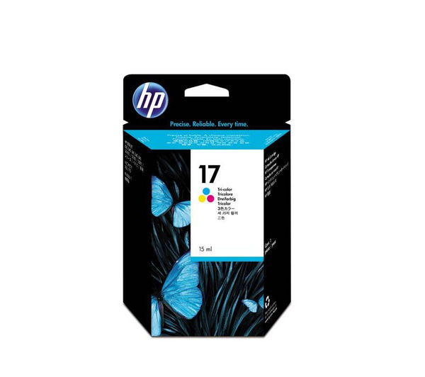 HP 17 Tri-colour Ink Cartridge