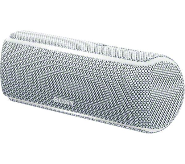 SONY SRS-XB21 Portable Bluetooth Wireless Speaker - White, White