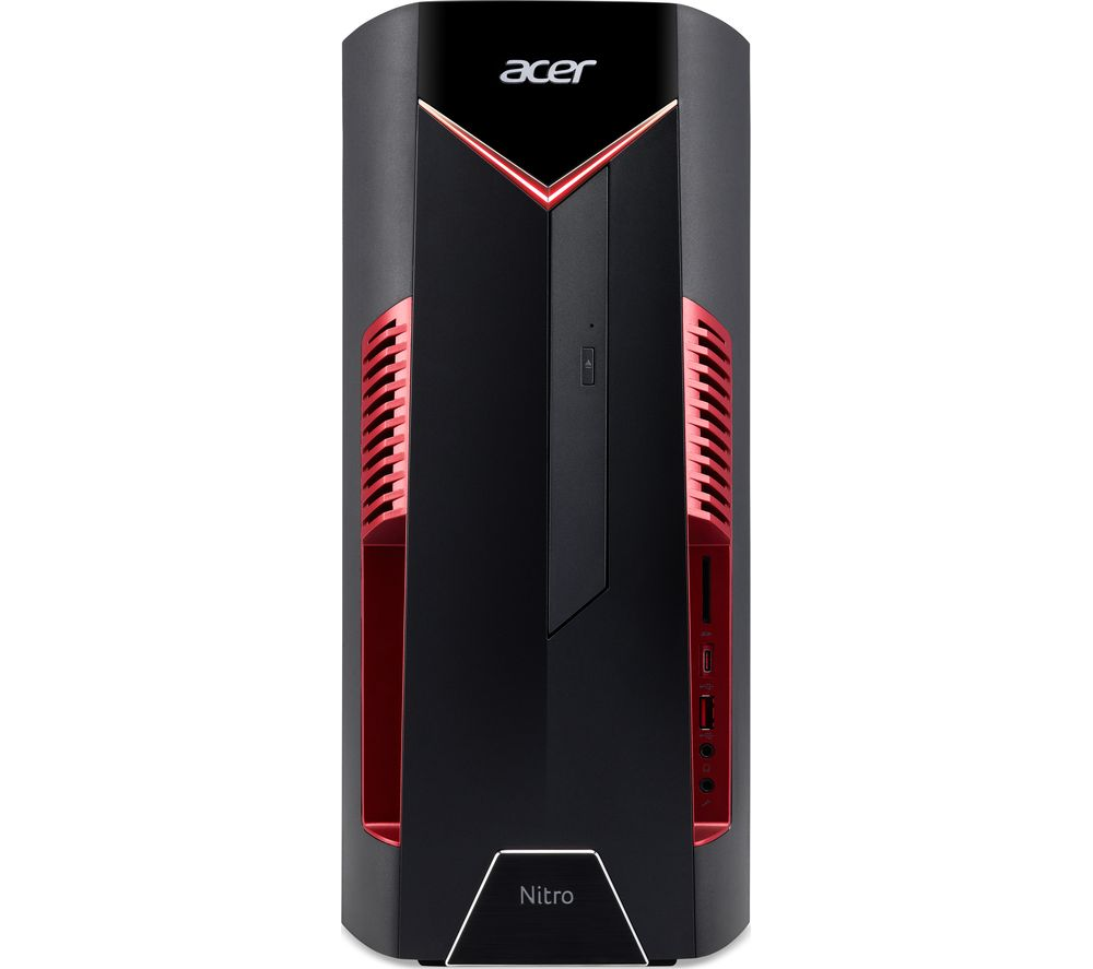 ACER Nitro 50-600 Intel® Core™ i7 GTX 1660 Ti Gaming PC - 1 TB HDD & 256 GB SSD