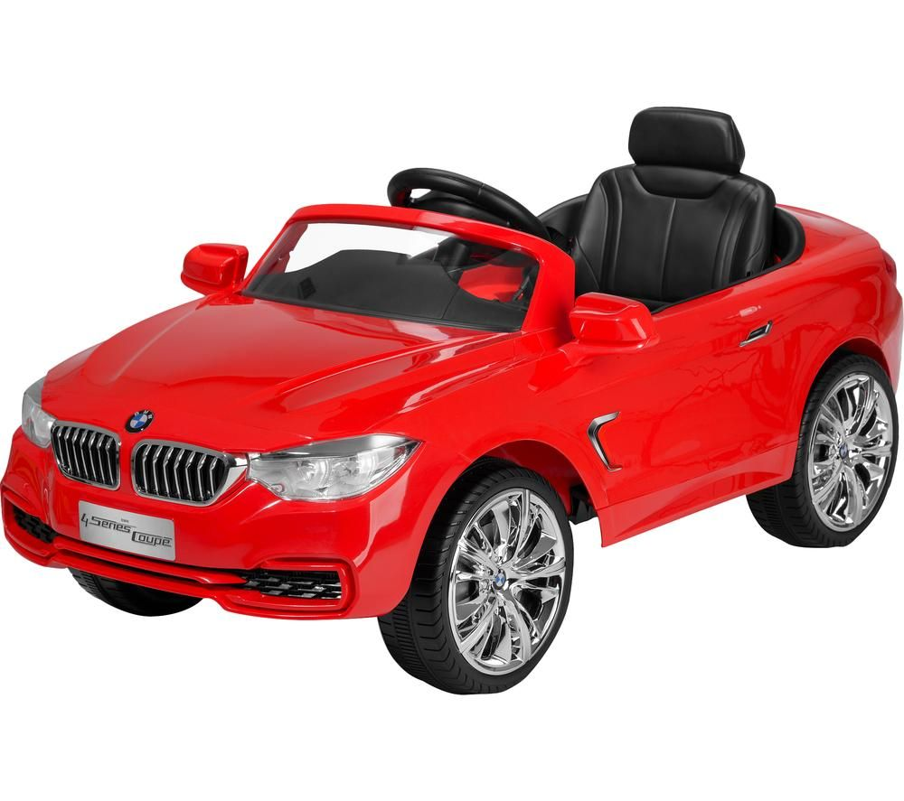 TOYRIFIC TY6014RD BMW 4 Series Electric Ride On Toy - Red, Red