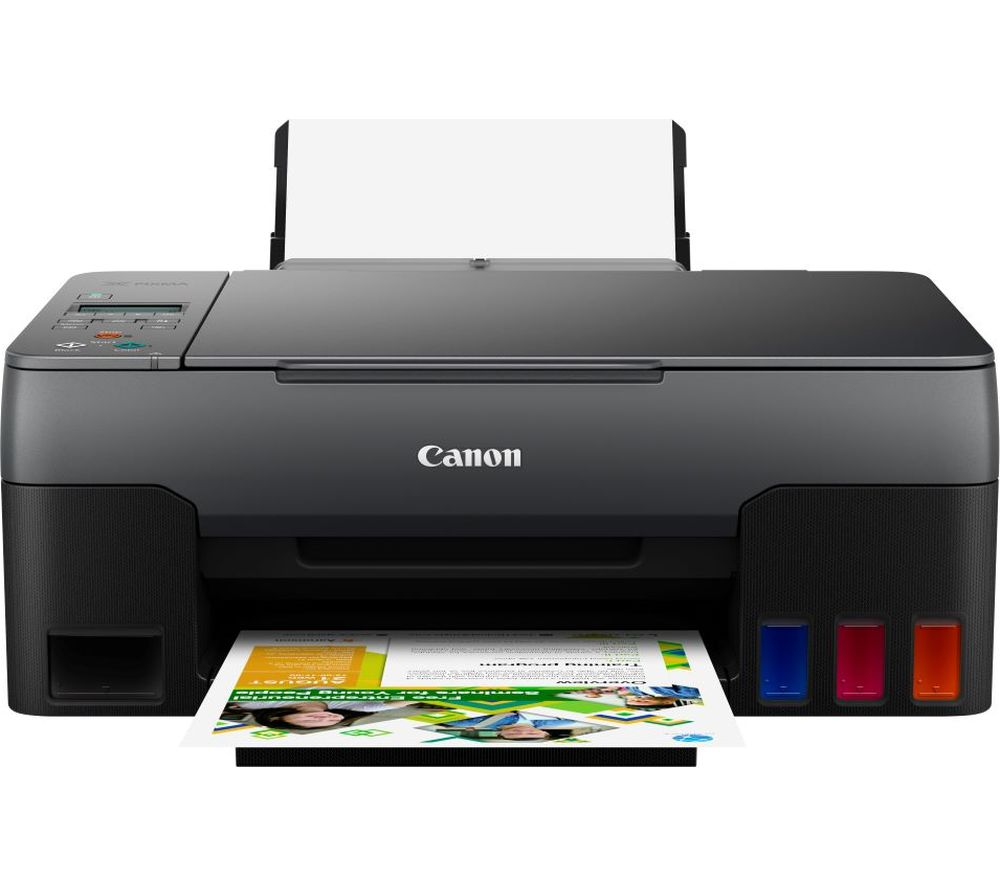 CANON PIXMA G3520 All-in-One Wireless Inkjet Printer, Black
