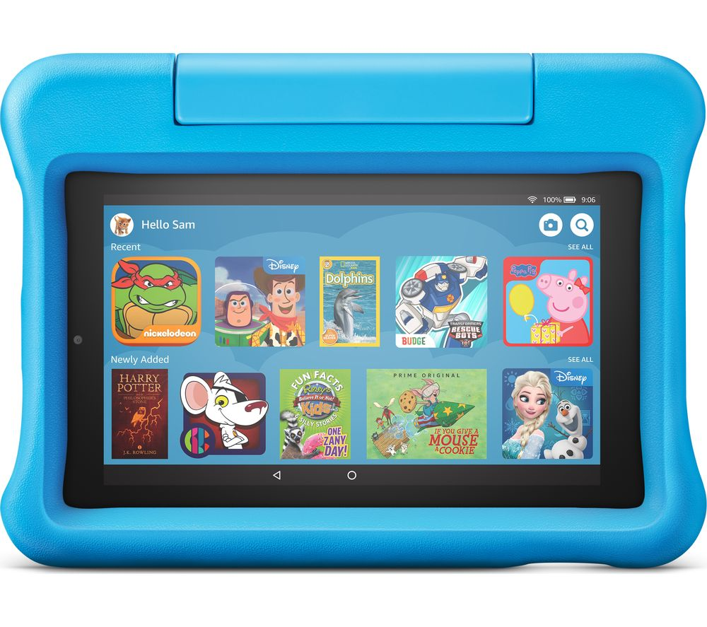 Fire 7? Kids Edition Tablet (2019) - 16 GB, Blue, Blue