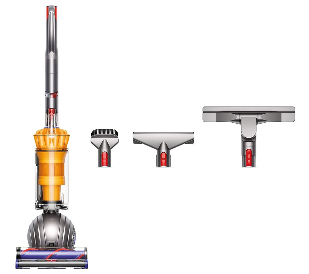 DYSON Light Ball Multifloor Upright Bagless Vacuum Cleaner & Whole Home Cleaning Accessory Kit Bundle