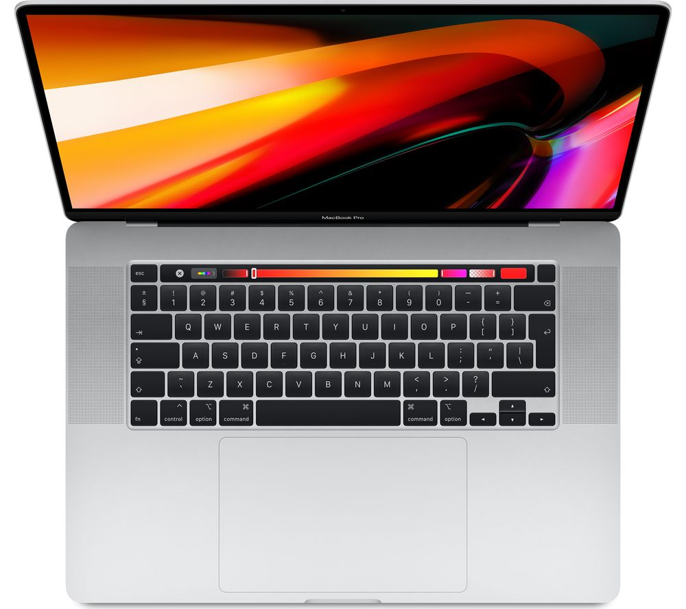 "APPLE 16"" MacBook Pro with Touch Bar (2019) - 512 GB SSD, Silver, Silver"