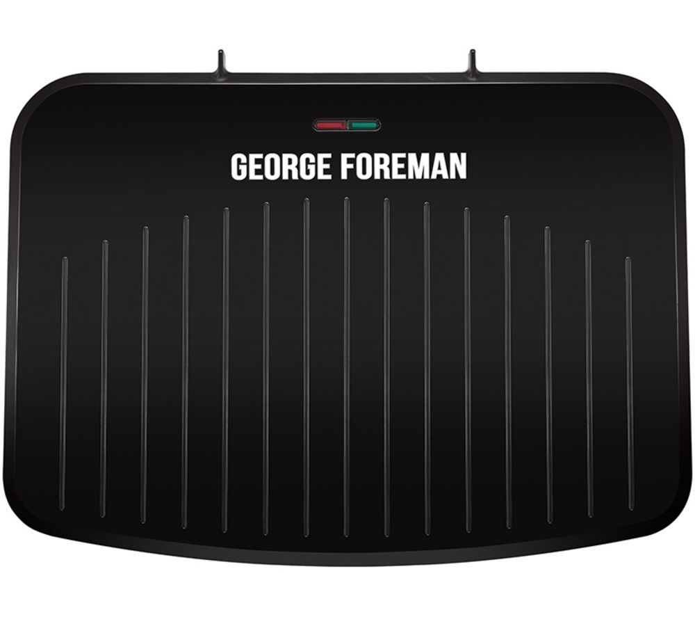 GEORGE FOREMAN 25820 Large Fit Grill - Black, Black